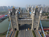 Bridge Resembling London Tower Bridge Built In China