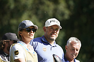Lee Westwood and his girlfriend wife<br /> BMW PGA 2019, Wentworth West GC, Surrey, UK, September 2019