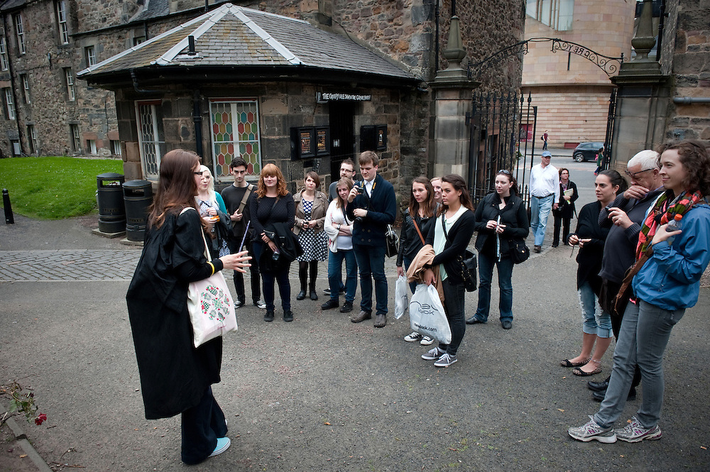 The Potter Trail, Edinburgh, Scotland, a tour of JK Rowling's influences and writing locations during the writing of the Harry Potter series.