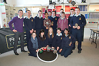 Ireland trailblazes with first ever Irish Junior Mini Sumo Robot Tournament.The Galway Education Centre on the west coast of Ireland, hosted Irish students from all over the country and led the way as they competed in the inaugural Irish Junior Mini Sumo Robot Tournament - the first tournament of its kind in either Ireland or the UK.  ...Run by Robotics Ireland, the critical aim of this event was to encourage young Irish students to recognise the vital role which Robots will play in all of our futures and to inspire them to embrace this in a creative and fun way. 84 students from 9 schools all over the country competed against each other over the course of the day to see which of their 40 robots would survive and claim the title Irish Junior Mini Sumo Robot Champion for the very first time. Picture:Andrew Downes.