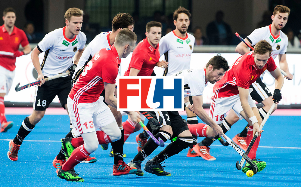 BHUBANESWAR - The Odisha Men's Hockey World League Final . Match ID 01 . Martin Zwicker (Ger)  WORLDSPORTPICS COPYRIGHT  KOEN SUYK