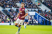 Daniel Drinkwater (Aston Villa) during the Premier League match between Brighton and Hove Albion and Aston Villa at the American Express Community Stadium, Brighton and Hove, England on 18 January 2020.