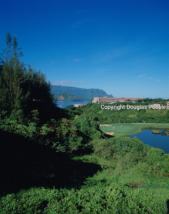 Golf Course, Princeville, Hanalei, Kauai, Hawaii, USA<br />