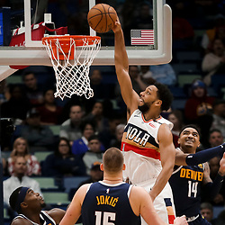 01-30-2019 Denver Nuggets at New Orleans Pelicans