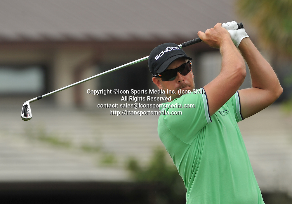 24 March 2013: Henrik Stenson during the final round of the Arnold Palmer Invitational at Arnold Palmer's Bay Hill Club & Lodge in Orlando, Florida.