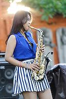 Jazz Market 16/8/2013, Taman Bhagawan, Tanjung Benoa, Bali, Indonesia.