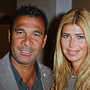 NLD/Amsterdam/20120202 - Lancering vernieuwde Talkies, Ruud Gullit en partner Estelle Cruijff