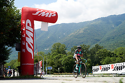 Ana Covrig (ROU) wins the intermediate sprint during Stage 8 of 2019 Giro Rosa Iccrea, a 133.3 km road race from Vittorio Veneto to Maniago, Italy on July 12, 2019. Photo by Sean Robinson/velofocus.com