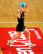Laura Langman (NZ)<br /> Netball - 2009 Holden International Test Series<br /> Australian Diamonds v New Zealand Silver Ferns<br /> Wednesday 9 September 2009<br /> Hisense Arena, Melbourne AUS<br /> © Sport the library / Jeff Crow