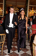 Jenna Barcley and Pierre de Montesquiou, Crillon 2004 Debutante Ball. Crillon Hotel. Paris. 26 November 2004. ONE TIME USE ONLY - DO NOT ARCHIVE  © Copyright Photograph by Dafydd Jones 66 Stockwell Park Rd. London SW9 0DA Tel 020 7733 0108 www.dafjones.com