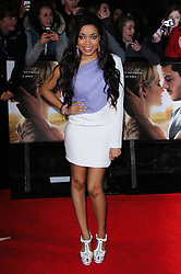 Dionne Bromfield at The Lucky One premiere in  London, 23rd April 2012.  Photo by: Chris Joseph / i-Images