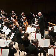 """March 6, 2012 - New York, NY : .Guest conductor Jon Oliver leads the Boston Symphony Orchestra featuring the Tanglewood Festival Chorus (not pictured) in Ludwig Van Beethoven's """"Missa solemnis in D Major, Op. 123 (1819-1823)"""" in Isaac Stern Auditorium at Carnegie Hall on Tuesday night..CREDIT : Karsten Moran for The New York Times"""