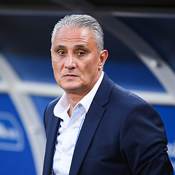 Tite coach of Brazil during the FIFA World Cup Group E match between Serbia and Brazil on June 27, 2018 in Moscow, Russia. (Photo by Anthony Dibon/Icon Sport)