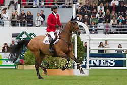 Bruynseels Niels (BEL) - Conisha vd Helle<br /> FEI Nations Cup La Baule 2012<br /> © Dirk Caremans