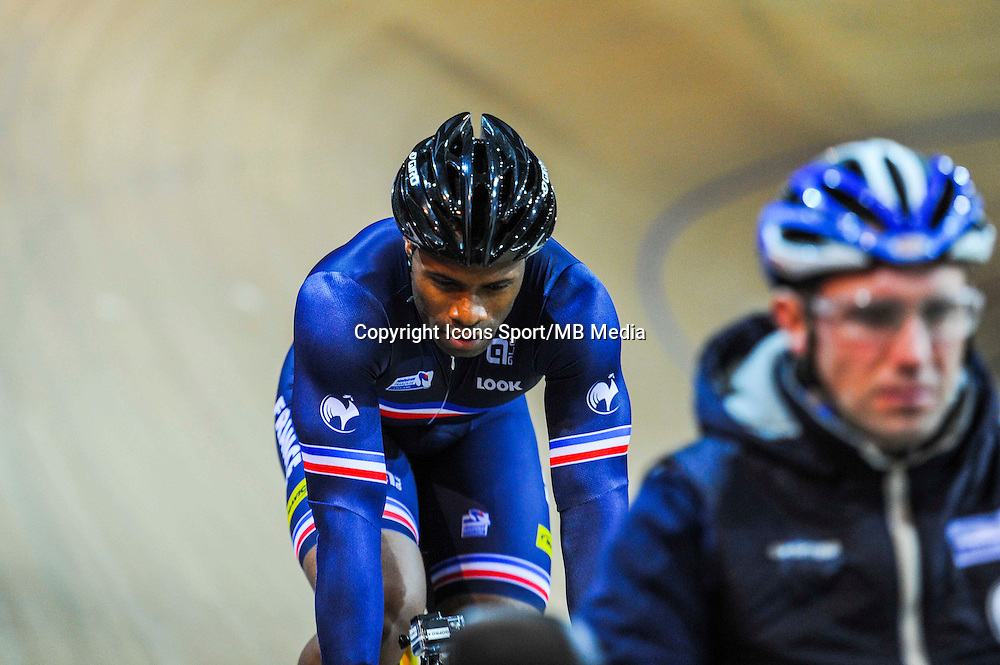 Gregory Bauge - 27.01.2015 -Entrainement Equipe de France de cyclisme sur piste - Saint Quentin en Yvelines <br />