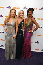 Left to right, GERI HALLIWELL, EMMA BUNTON and MEL B at the 2008 Glamour Women of the Year Awards 2008 held in the Berkeley Square Gardens, London on 3rd June 2008.<br /><br />NON EXCLUSIVE - WORLD RIGHTS