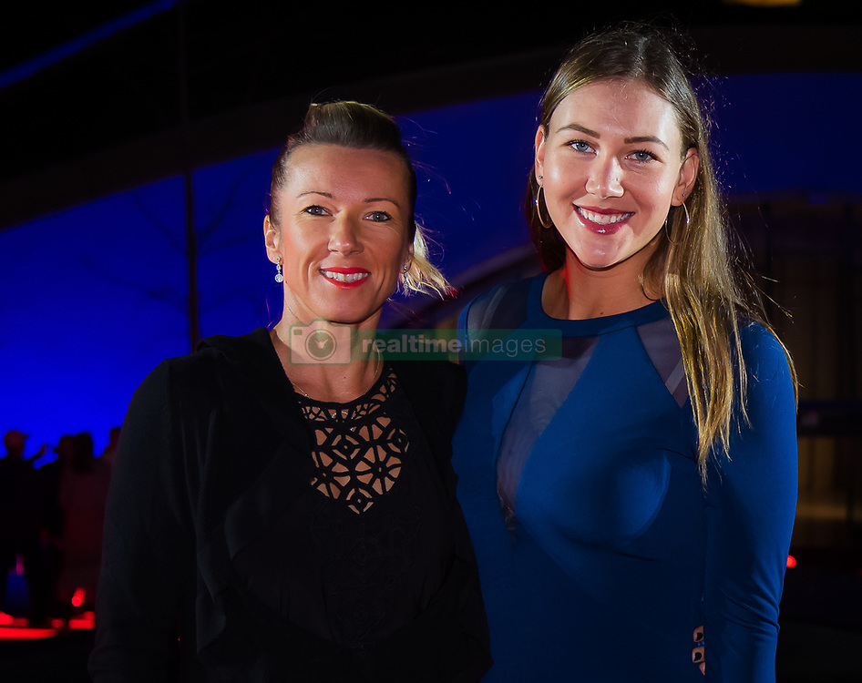 September 30, 2018 - Nicole Melichar of the United States on the red carpet at the 2018 China Open WTA Premier Mandatory tennis tournament players party (Credit Image: © AFP7 via ZUMA Wire)