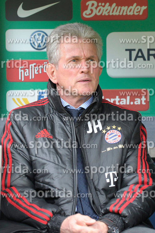 21.04.2012, Weserstadion, Bremen, GER, 1. FBL, SV Werder Bremen vs FC Bayern Muenchen, 32. Spieltag, im Bild Jupp HEYNCKES, Trainer FC Bayern Muenchen, Portrait // during the German Bundesliga Match, 32th Round between SV Werder Bremen and Fc Bayner Munich at the Weserstadium, Bremen, Germany on 2012/04/21. EXPA Pictures © 2012, PhotoCredit: EXPA/ Eibner/ Stefan Schmidbauer..***** ATTENTION - OUT OF GER *****