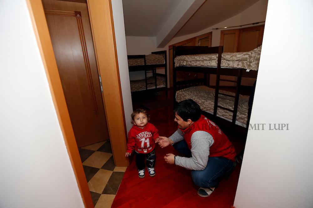 JRS shelter in Skopje, Macedonia.<br /> Photo: Darrin Zammit Lupi