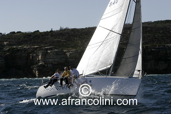 SAILING - BMW Winter Series 2005 - YOUNG STAR - Sydney (AUS) - 29/05/05 - ph. Andrea Francolini