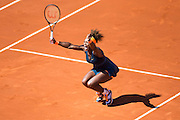 Paris, France. Roland Garros. June 4th 2013.<br /> American player Serena WILLIAMS against Svetlana KUZNETSOVA