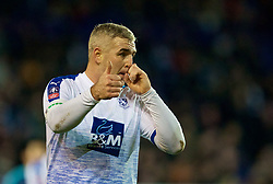 BIRKENHEAD, ENGLAND - Friday, January 4, 2019: Tranmere Rovers' Steve McNulty during the FA Cup 3rd Round match between Tranmere Rovers FC and Tottenham Hotspur FC at Prenton Park. (Pic by David Rawcliffe/Propaganda)