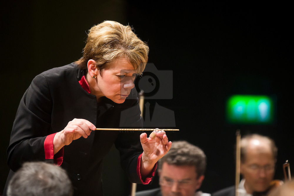 World famous Conductor Marin Alsop pictured in National Concert Hall Dublin. Picture Andres Poveda