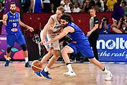 Petteri Koponen, Ariel Filloy<br /> Nazionale Italiana Maschile Senior<br /> Eurobasket 2017 - Final Phase - Round of 16<br /> Finlandia Italia Finland Italy<br /> FIP 2017<br /> Istanbul, 09/09/2017<br /> Foto M.Ceretti / Ciamillo - Castoria