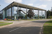 New one zero one building housing modern high-tech businesses located in Cambridge Science park, Cambridge, England founded by Trinity College in 1970, is the oldest science park in the United Kingdom.