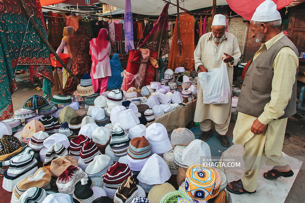 Devotees converged for peace prayers at the famous Muslim shrine of Hazratbal to mark Meraj-ul-Alam festival in Srinagar, Prophet Mohammed's Moi-e-Muqaddas (Holy Relic) is displayed for public viewing on ten occasions in a year, which includes Meraj-ul Alam.