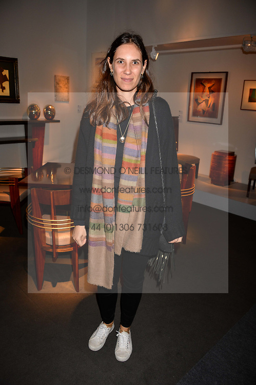 Tatiana Santo Domingo (Casiraghi) at the 2017 PAD Collector's Preview, Berkeley Square, London, England. 02 October 2017.