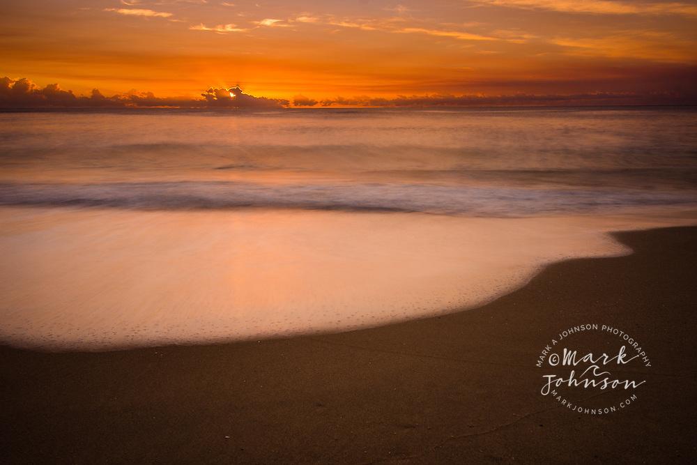 Sunrise at Shelly Beach, Caloundra, Sunshine Coast, Queensland, Australia