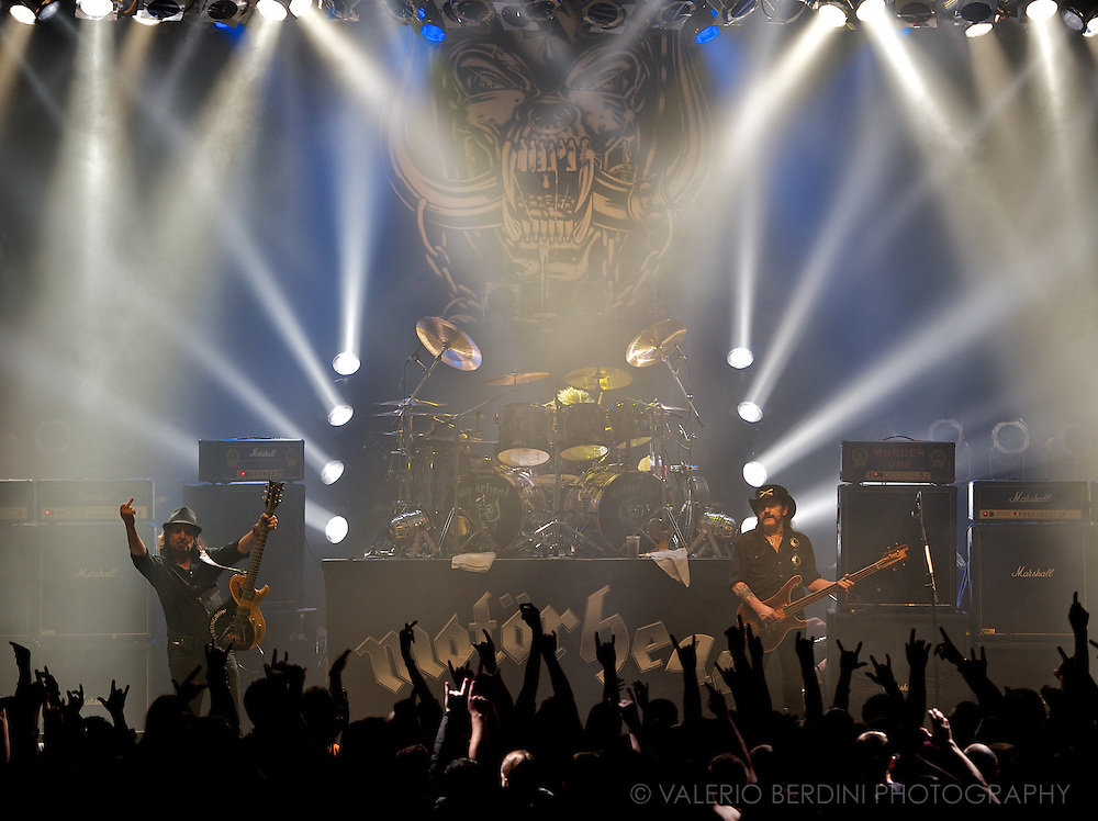 Hard Rock legendary band, Motorhead live at the Corn Exchange. Cambridge 12 November 2012