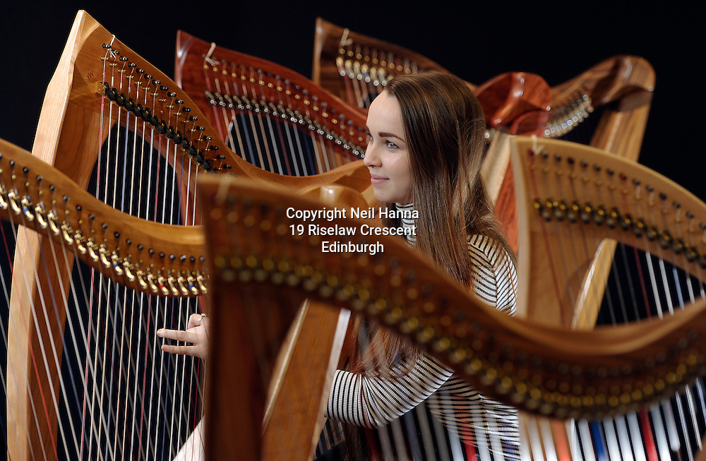 JP License<br /> Edinburgh International Harp Festival 1-6th April 2016.<br /> <br /> Soloist Caitlin Bruce will be performing at a Tea Concert on Tuesday afternoon at 3pm.<br /> <br /> <br />  Neil Hanna Photography<br /> www.neilhannaphotography.co.uk<br /> 07702 246823
