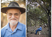 Dr. Ben Mann, a Stanford educated mathematician and program manager for DARPA from 2004-2010, is photographed at his home in Austin, Texas on Friday, December 4, 2015. Mann often walks the 2.75 acres of his property in the Texas hill country while working through mathematical problems.