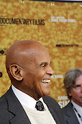 "New York, NY- October 6: Actor Harry Belafonte at the HBO Premiere of "" Sing Your Song"" chronicling the life & iconic career of legendary entertainer & civil rights hero Harry Belafonte held at the Apollo Theater on October 6, 2011 in Harlem, New York City. Photo Credit: Terrence Jennings"