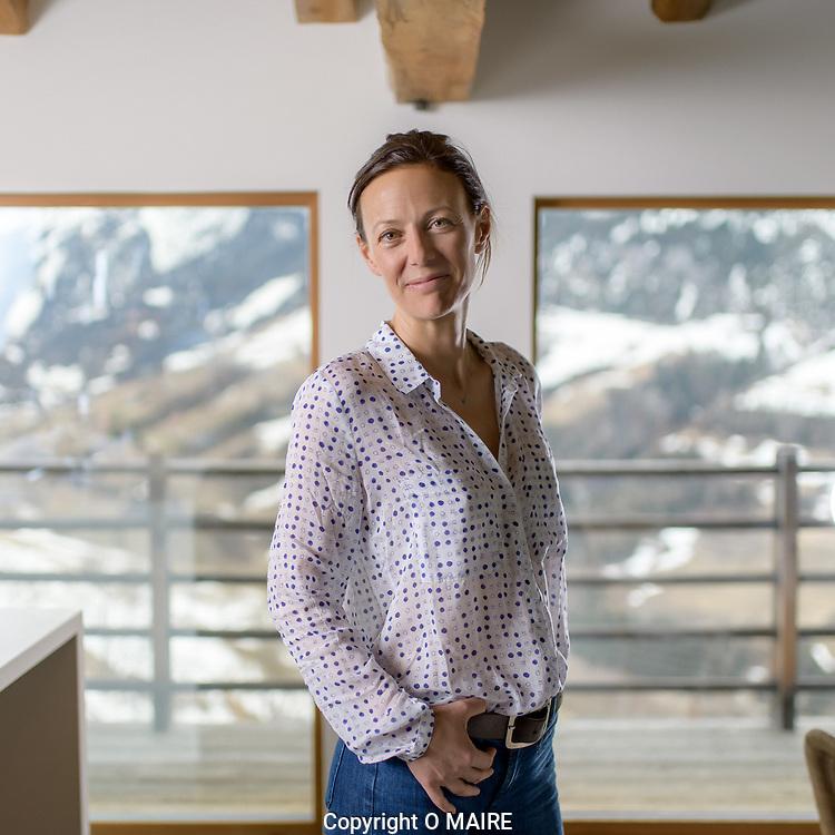 Sofia de Meyer, cr&eacute;atrice des jus de fruits super naturels Opaline<br /> Orsi&egrave;re le 5 f&eacute;vrier 2018<br /> (OLIVIER MAIRE)