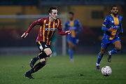 Bradford City's Dylan Connolly(19) during the The FA Cup match between Bradford City and Shrewsbury Town at the Utilita Energy Stadium, Bradford, England on 19 November 2019.