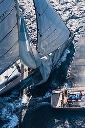 France Saint - Tropez October 2013, Wally Class racing at the Voiles de Saint - Tropez<br /> Wally,W 107,KENORA,33,WALLY 107/1999,LUCA BRENTA
