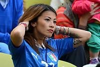 """MOGLIA DIAMANTI (Italia)<br /> Danzica 10/06/2012  """"GDANSK ARENA""""<br /> Football calcio Europeo 2012  Spagna Vs Italia <br /> Football Calcio Euro 2012<br /> Foto Insidefoto Alessandro Sabattini"""