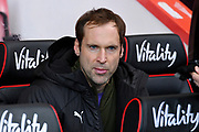 Petr Cech (1) of Arsenal on the bench during the Premier League match between Bournemouth and Arsenal at the Vitality Stadium, Bournemouth, England on 25 November 2018.