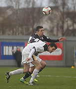 Ryan Conroy and Paul McGinn - Dumbarton v Dundee  - SPFL Championship at the Bet Butler Stadium<br /> <br />  - &copy; David Young - www.davidyoungphoto.co.uk - email: davidyoungphoto@gmail.com