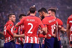 May 16, 2018 - Lyon, France - 18 Diego Costa (atl) - JOIE (Credit Image: © Panoramic via ZUMA Press)