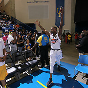 Actor Jackie Long (25) participates in The 15th annual Duffy's Hope Celebrity Basketball Game Saturday, August 05, 2017, at The Bob Carpenter Sports Convocation Center, in Newark, DEL.    <br />