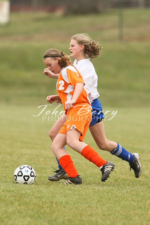 MCHS JV Girls Soccer .vs Orange   .3/27/2009
