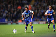 Ipswich Town midfielder Kevin Bru (17) during the EFL Sky Bet Championship match between Ipswich Town and Brighton and Hove Albion at Portman Road, Ipswich, England on 27 September 2016.