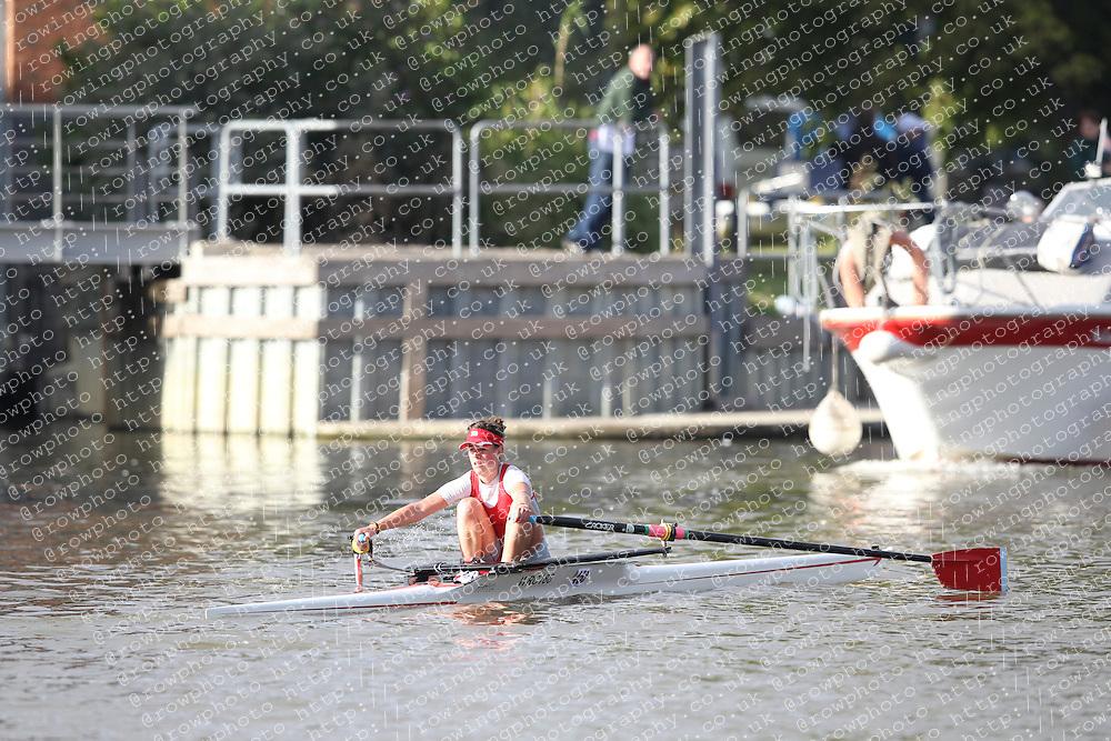 2012.09.29 Wallingford Long Distance Sculls 2012. Division 3. W.IM1 1x. Wallingford Rowing Club.