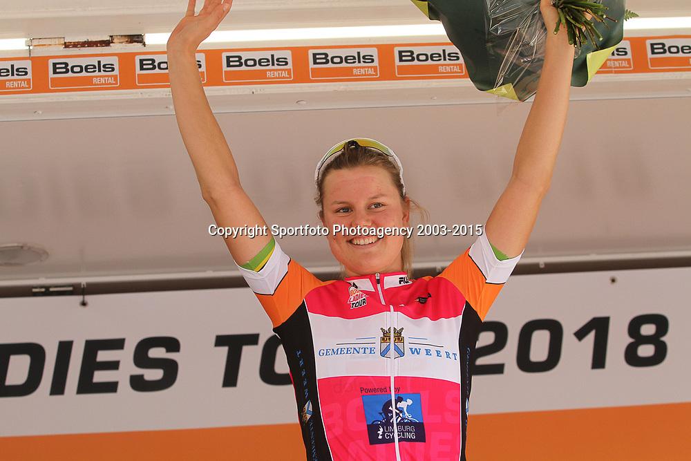 31-08-2018: Wielrennen: Ladies Tour: Weert<br />Amelie Dideriksen