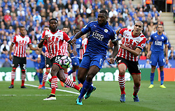 Wes Morgan of Leicester City controls the ball - Mandatory by-line: Robbie Stephenson/JMP - 02/10/2016 - FOOTBALL - King Power Stadium - Leicester, England - Leicester City v Southampton - Premier League