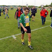 SV Huizen - Harkemasche Boys 2-2, Dennis van der Steen
